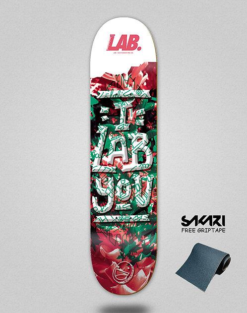 Lab skate deck I lab you