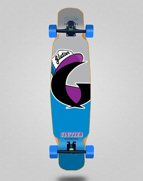 Glutier California blue longboard dance complete 46x9