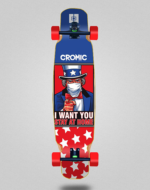 Cromic Covid I want you longboard dance complete 46x9