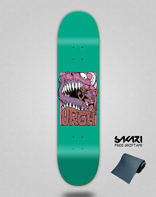 Urgh skate deck Monster green