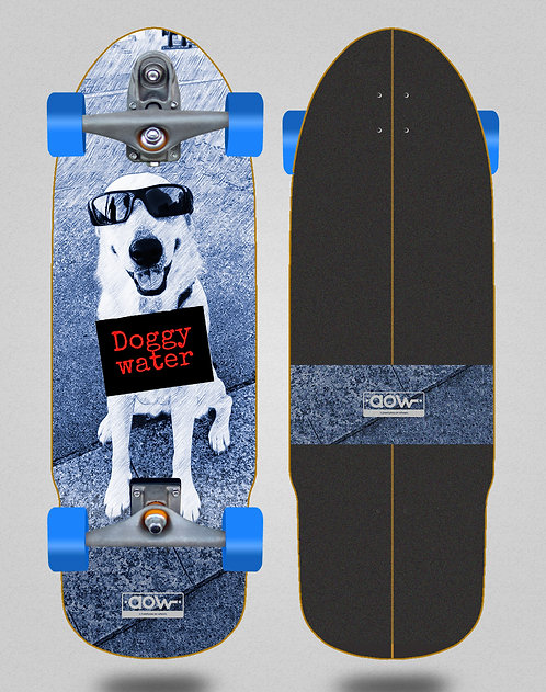 Aow surfskate T12 trucks Doggy water 32 bullet