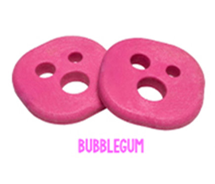 Holesom pucks (set 2) bubblegum