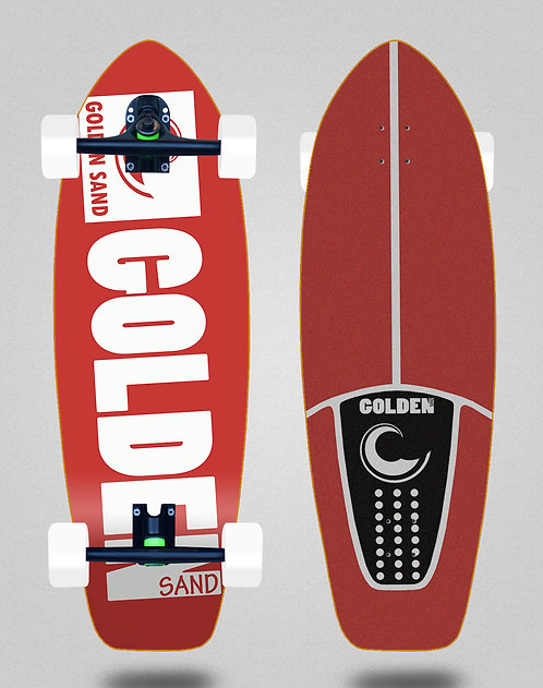 Golden Sand cruiser Degraded red white 31