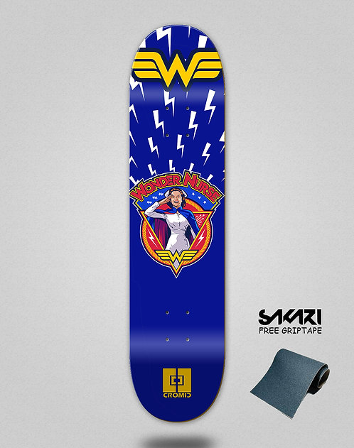 Cromic Covid Wonder skate deck