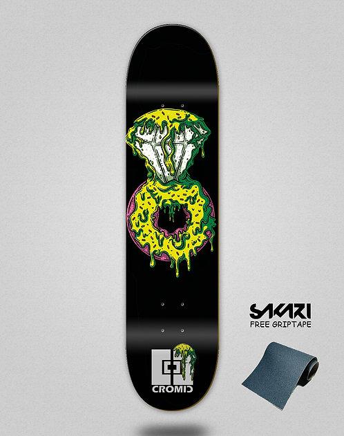 Cromic Donat luxury green skate deck