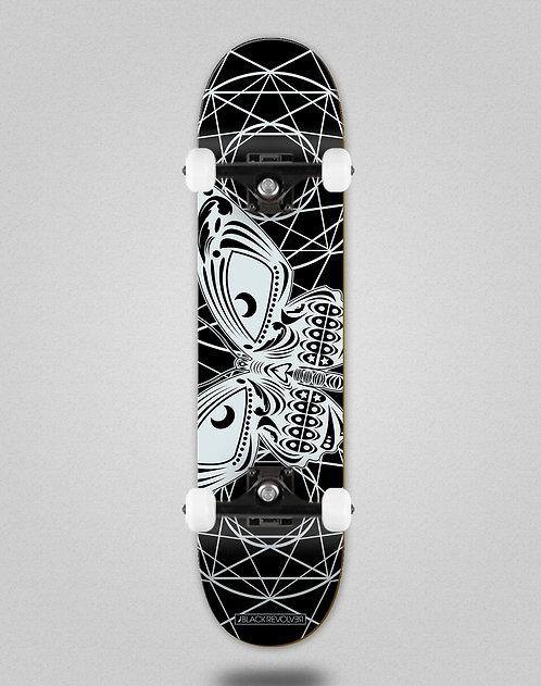 Black Revolver Insecta collective mariposa black skate complete