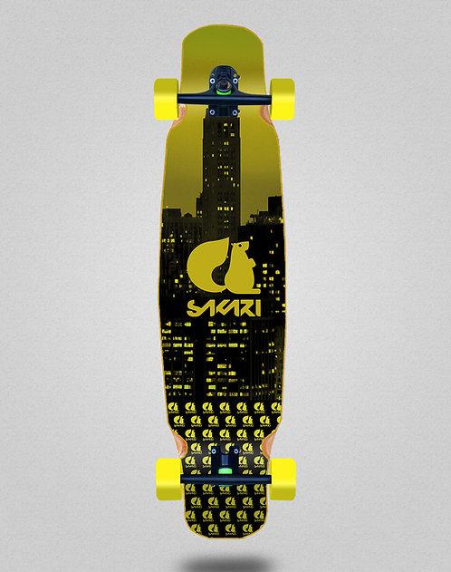 Sakari City yellow longboard dance complete 46x9