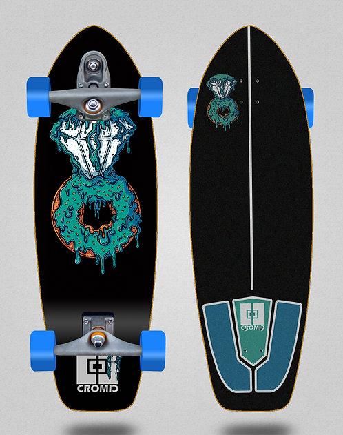Cromic surfskate T12 trucks Donat blue 31