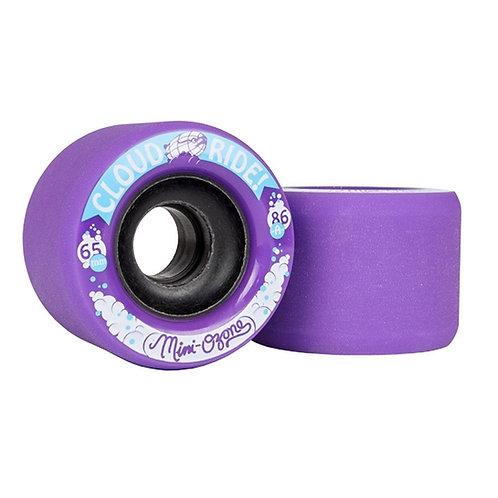 Cloud Ride Wheels Mini Ozone Purple 86a / 65 MM (set 4)