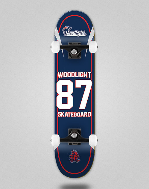 Wood light Basket 87 skate complete