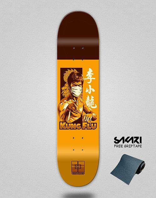 Cromic Covid Kung flu skate deck