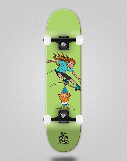 Wood light Forall green skate complete