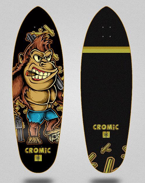 Cromic surfskate deck Donkey crazy food 32.5 deep