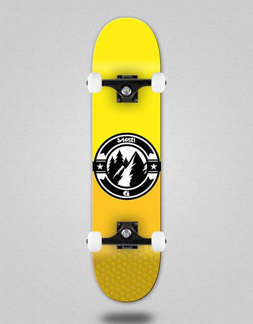 Sakari Downhill juice yellow skate complete