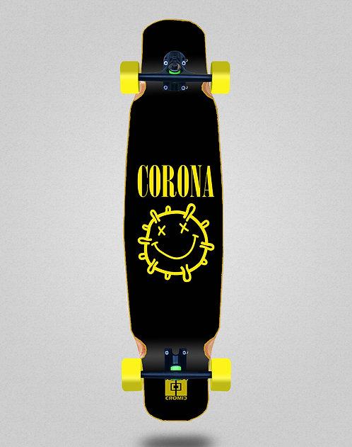 Cromic Covid Corona longboard dance complete 46x9