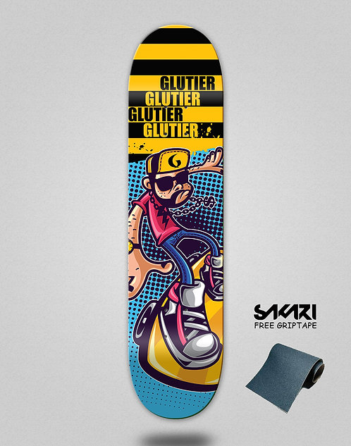 Glutier John Drugs skate deck