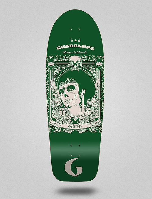 Glutier deck: Guadalupe green 30,5
