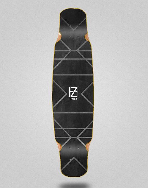 Holz Gram lux longboard deck bamboo dance 46x9