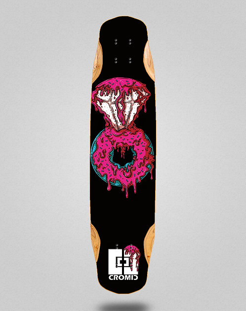 Cromic Donat pink longboard deck 38x8.45