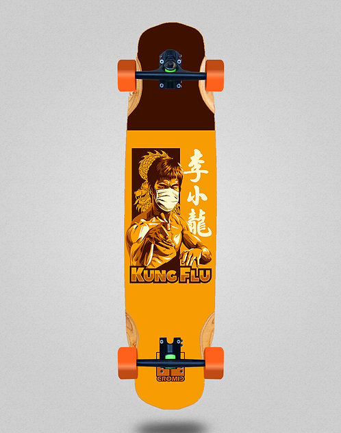 Cromic Covid Kung flu longboard complete 38x8.45