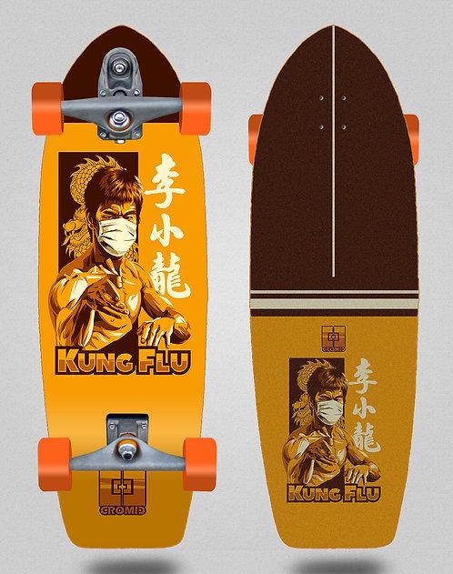 Cromic surfskate T12 trucks C19 Kung flu 29
