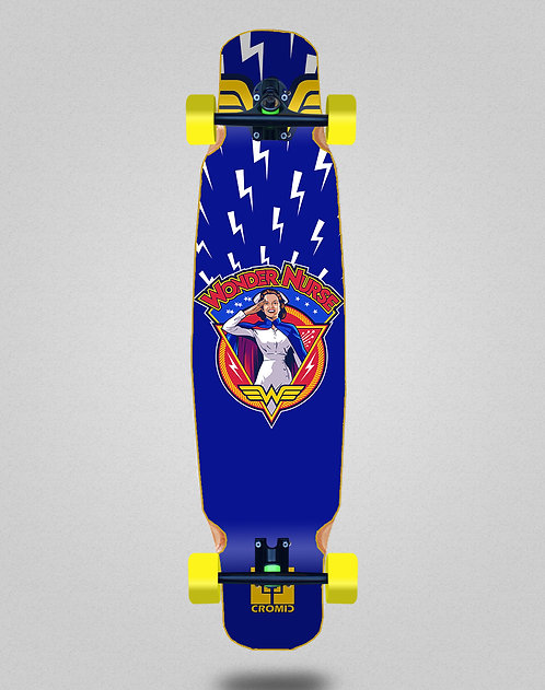 Cromic Covid Wonder longboard dance complete 46x9