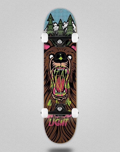 Wood light Animal fight bear skate complete
