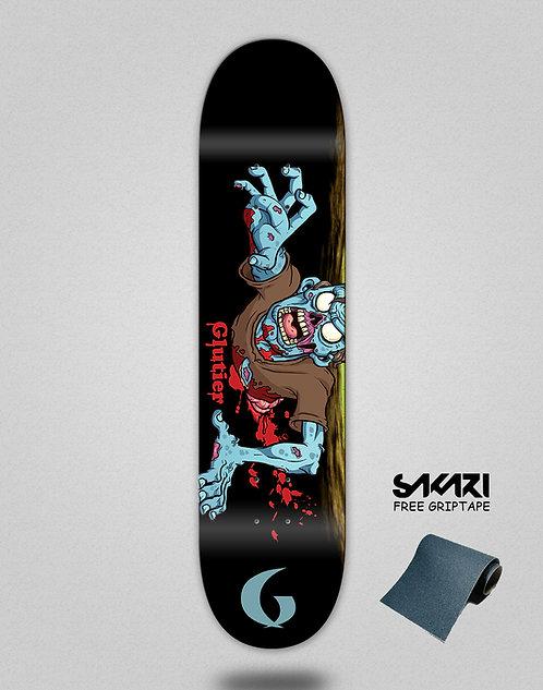 Glutier Final zombie skate deck