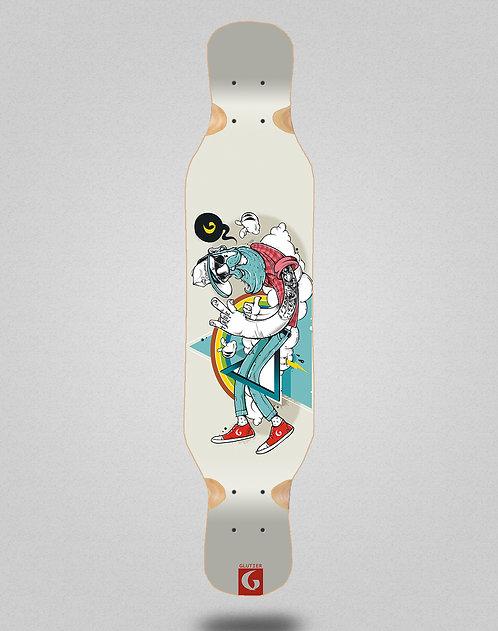 Glutier Abel G.N. longboard deck 46x10