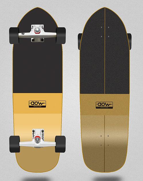Aow surfskate SGI trucks Fastskate classic yellow 33,5