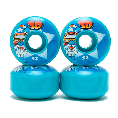 Speed Demons Characters hot shot blue 52mm