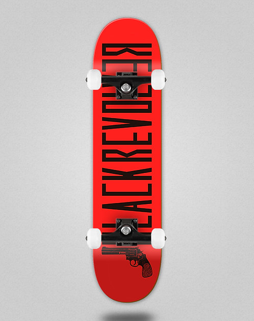 Black Revolver Color red black skate complete