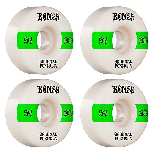 Bones 100 s V4 54MM OGF WHITE