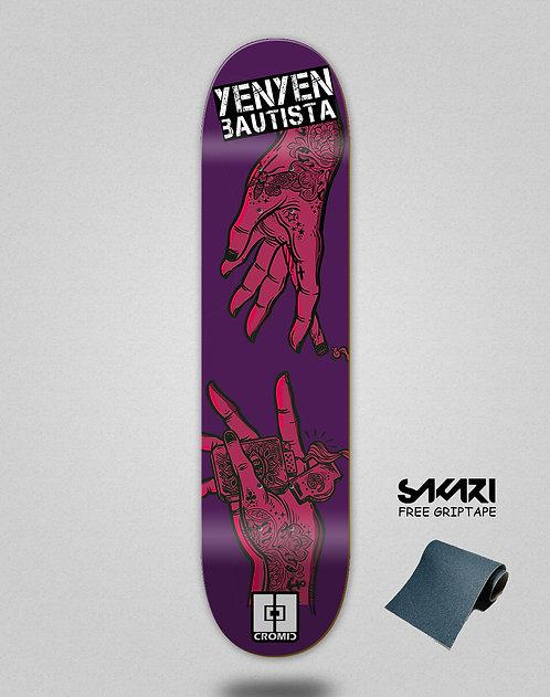 Cromic Yenyen hands purple pink
