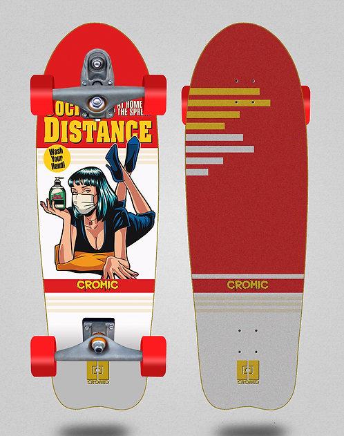 Cromic surfskate T12 trucks C19 Social distance 31
