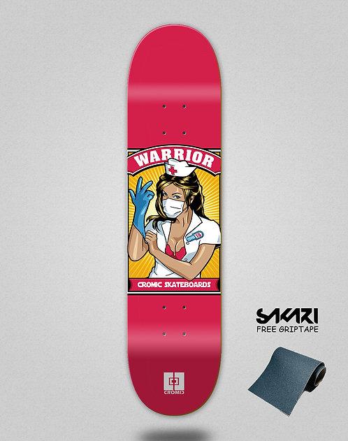 Cromic Covid Warrior skate deck