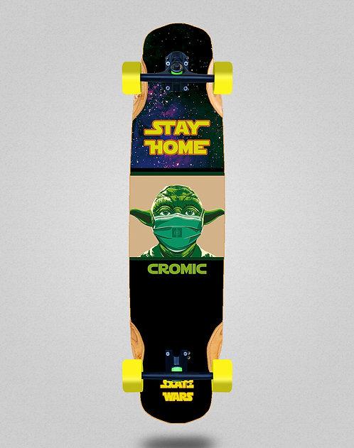 Cromic Covid Skate wars longboard complete 38x8.45