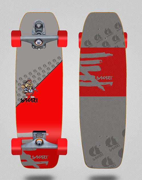 Sakari surfskate T12 - Castor 31.5 fat nose