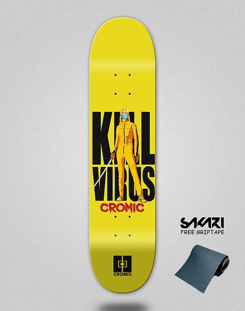 Cromic Covid Kill virus skate deck