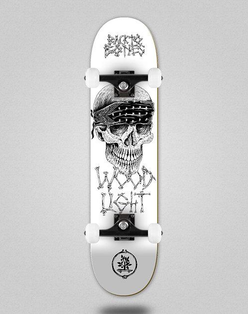 Wood light Back to bones Jordan white skate complete