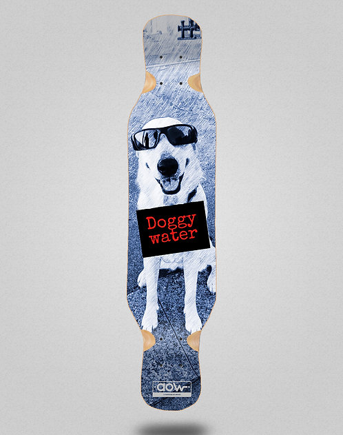 Aow Doggy water longboard deck 46x10