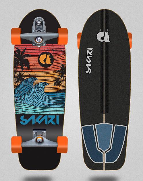 Sakari surfskate T12 - Cali dream orange 30,5