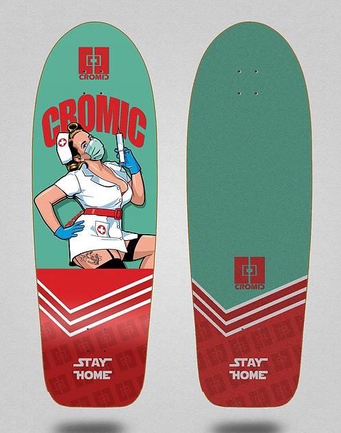 Cromic surfskate deck - Covid Nurse 30,5
