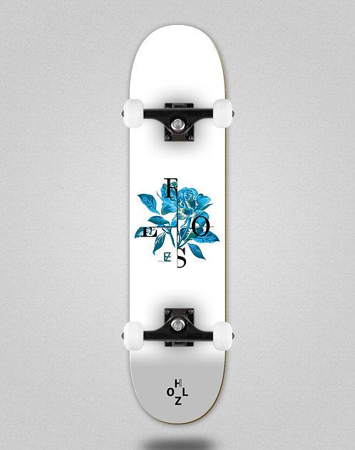 Holz Rose white skate complete