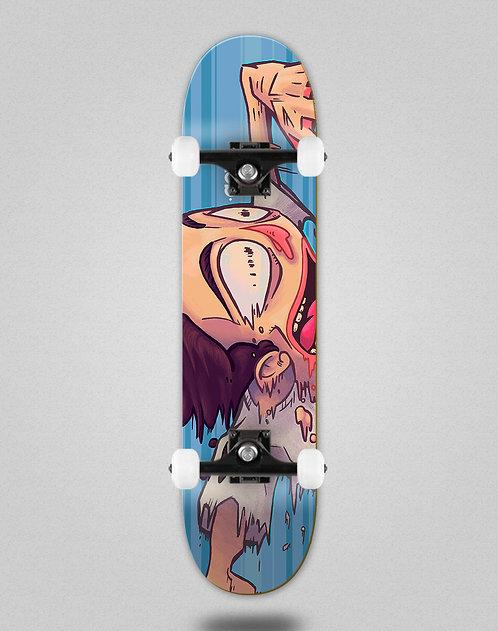 Aow fastskate blue skate complete