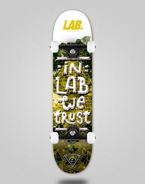Lab complete In the lab we trust