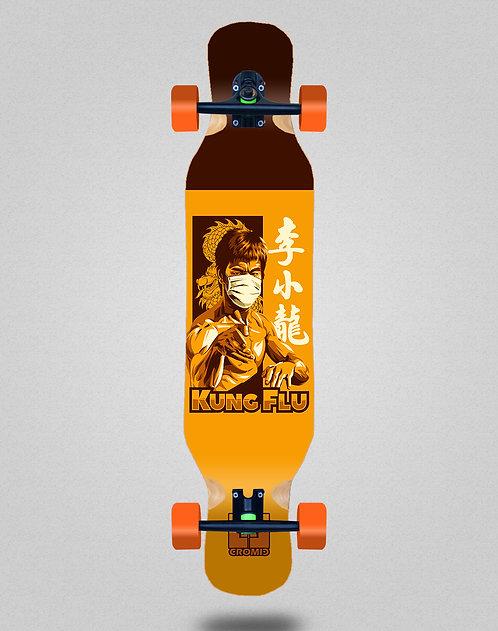 Cromic Covid Kung flu longboard complete 46x10