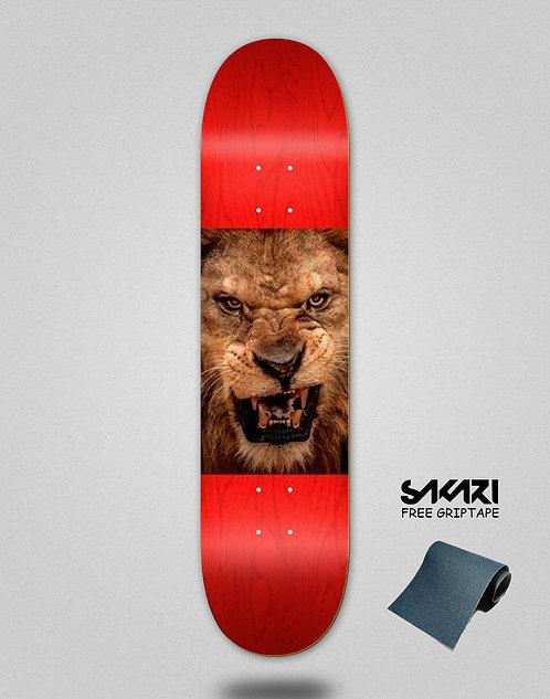 Mini logo deck Lion eyes 8.5