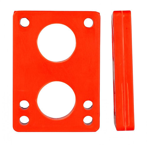 D Street Risers Soft red (Pack of 2)