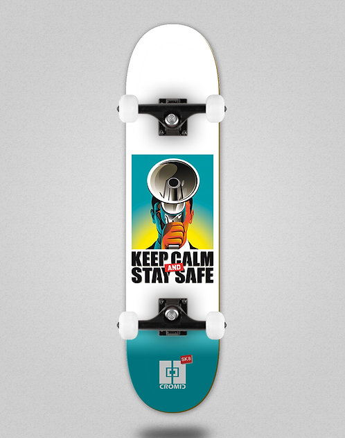 Cromic Covid Keep calm skate complete